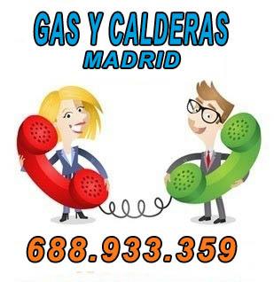 reparaciones de calderas en Madrid