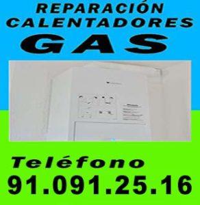 reparacion de calderas de gas en Aluche